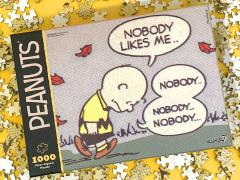 Peanuts Sad Charlie Brown 1000-Piece Puzzle