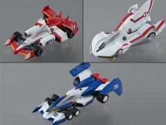 Future GPX Cyber Formula Variable Action Kit Super Asrada 01, Knight Savior 005, & Iszark Model Kit Set