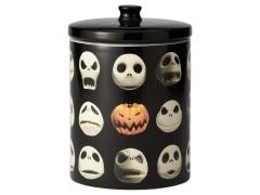 The Nightmare Before Christmas Jack Skellington Spooky Faces Cookie Jar