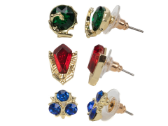 The Legend of Zelda 3 Pack Stone Stud Earrings