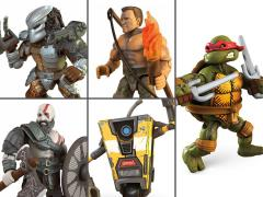 Mega Construx Heroes Wave 2 Set of 5 Figures