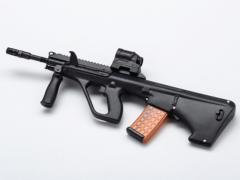 AUG A3 SA USA Rifle + Red Dot Sight 1/6 Scale Accessory Set