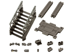 Hexa Gear Block Base 03 Lift Option A Model Kit