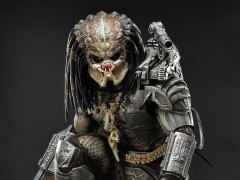 Predator Premium Masterline Big Game Cover Art Predator Deluxe 1/4 Scale Statue