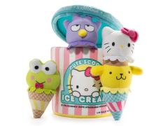 Hello Sanrio Ice Cream Cute Scoops Plush