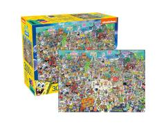 SpongeBob SquarePants Cast 3000-Piece Puzzle
