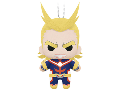 "My Hero Academia All Might 6"" Plush Keychain"
