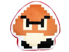 Super Mario Goomba 8-Bit Plush Pillow