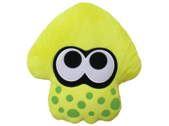 Splatoon Yellow Inkling Squid Pillow