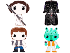 Pop! Pins Star Wars Wave 1 Set of 4 Pins