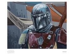 Star Wars Mando Limited Edition Giclee