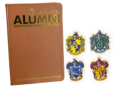 Harry Potter Hogwarts Alumni Notebook & Sticker Set