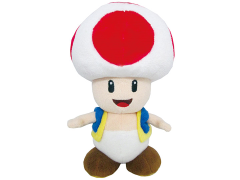 "Super Mario Toad 8"" Plush"