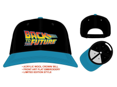 Back to the Future Flatbill Snapback Hat