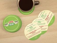 Friends Central Perk Trivia Coasters