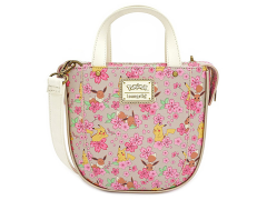 Pokemon Pikachu & Eevee Floral Crossbody Bag
