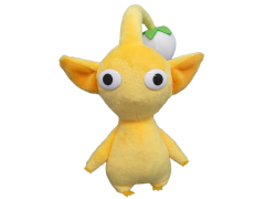 "Pikmin Yellow Pikmin 7"" Plush"