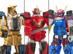 "Power Rangers Beast Morphers 10"" Megazord Wave 2 Set of 3 Figures"