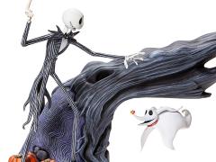 The Nightmare Before Christmas Jack & Zero Levitating Figure