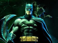 Batman: Hush Museum Masterline Batman (Batcave Ver.) 1/3 Scale Statue
