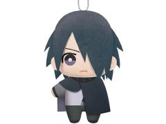"""Naruto Sasuke 6"""" Plush Keychain"""