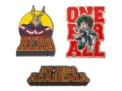 My Hero Academia Lapel Pin Set