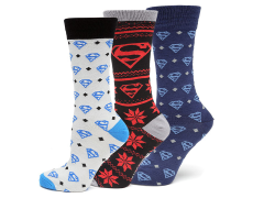 DC Comics Superman Socks Three-Pack