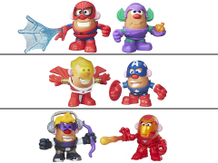 Marvel Mr. Potato Head Mashup Set of 3 Deluxe Two Packs