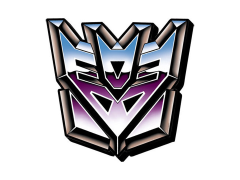 Transformers Decepticons Logo Funky Chunky Magnet