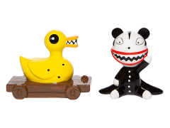 The Nightmare Before Christmas Scary Teddy & Killer Duck Salt & Pepper Shaker Set