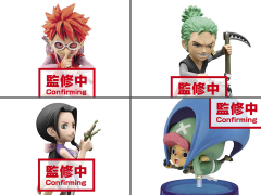 One Piece World Collectable Figure Wanokuni Style Vol.1 Box of 6 Figures
