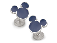 Disney Mickey Mouse Blue Cufflinks