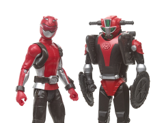 Power Rangers Beast Morphers Red Ranger & Morphin Cruise Beastbot