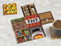 Minecraft Block Coasters