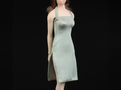 Women's Slit Dress (Light Green) 1/6 Scale Accessory Set