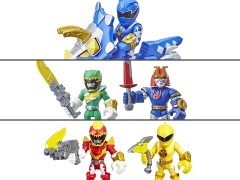 Power Rangers Heroes Figures Set of 3 Two-Packs