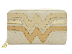 DC Comics Wonder Woman Quilted Zip Around Wallet