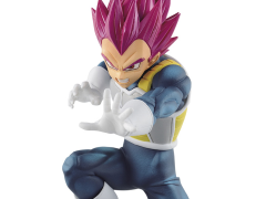 Dragon Ball Super Warriors Battle Retsuden Super Saiyan God Vegeta