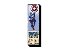 Marvel Captain America 12 Cents Funky Chunky Magnet