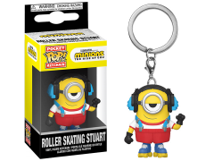 Pop! Keychains: Minions 2 - Roller Skating Stuart