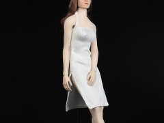 Women's Slit Dress (White) 1/6 Scale Accessory Set