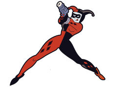 Batman: The Animated Series Harley Quinn Mega-Mega Magnet