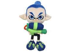 "Splatoon Inkling Boy Blue 9"" Plush"