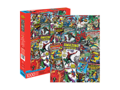 Marvel Spider-Man Collage 1000-Piece Puzzle