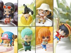 One Piece Ochatomo Tea Time Of Pirates Box of 8 Figures