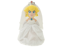 "Super Mario Bride Princess Peach 16"" Plush"