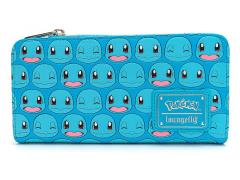 Pokemon Squirtle Faces Zip Top Wallet
