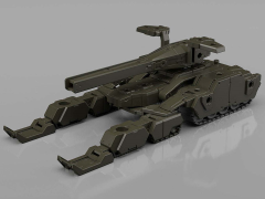 30 Minute Missions #3 EXA Tank (Olive Drab) Model Kit