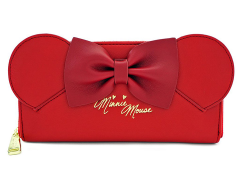 Minnie Mouse Red Ears & Bow Wallet