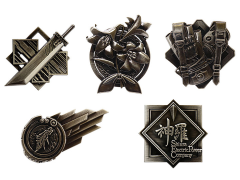 Final Fantasy VII Remake Box of 10 Pin Badges
